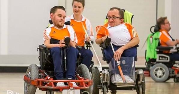 TeamNL Powerchairhockey op weg naar die felbegeerde Europese titel! afbeelding nieuwsbericht