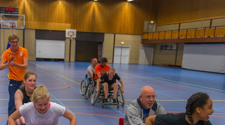 9 juni rolstoelbasketbalclinic in Waddinxveen afbeelding nieuwsbericht