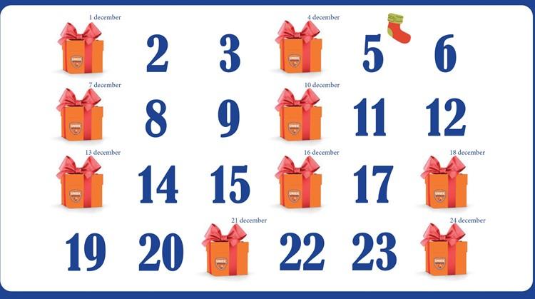 Adventkalender Uniek Sporten Gelderland van start afbeelding nieuwsbericht