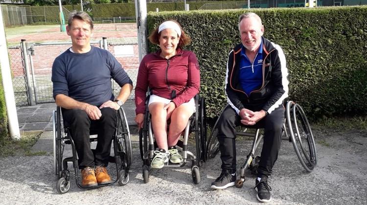 Jubilerende Stichting Rolstoeltennis Thadia zet rolstoeltennis internationaal op de kaart afbeelding nieuwsbericht