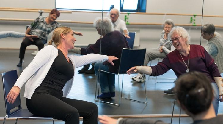 Zit dans, doe 15 november een proefles! Centrum voor de kunsten Beverwijk afbeelding nieuwsbericht