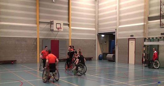 Kennismaking met rolstoelhandbal Zephyr afbeelding nieuwsbericht