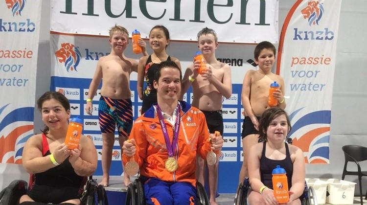 Uitnodiging open training Paralympisch Zwemmen afbeelding nieuwsbericht