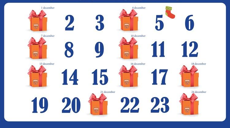 Adventkalender Uniek Sporten Gelderland morgen van start afbeelding nieuwsbericht