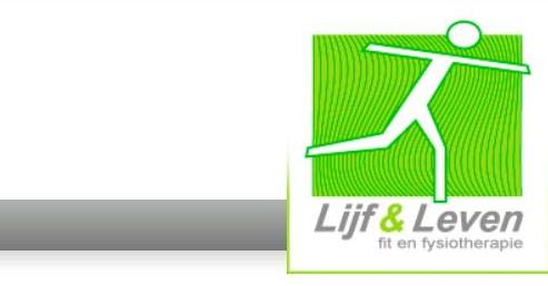 Blijf Fit met Lijf en Leven FIT Fysiotherapie afbeelding nieuwsbericht