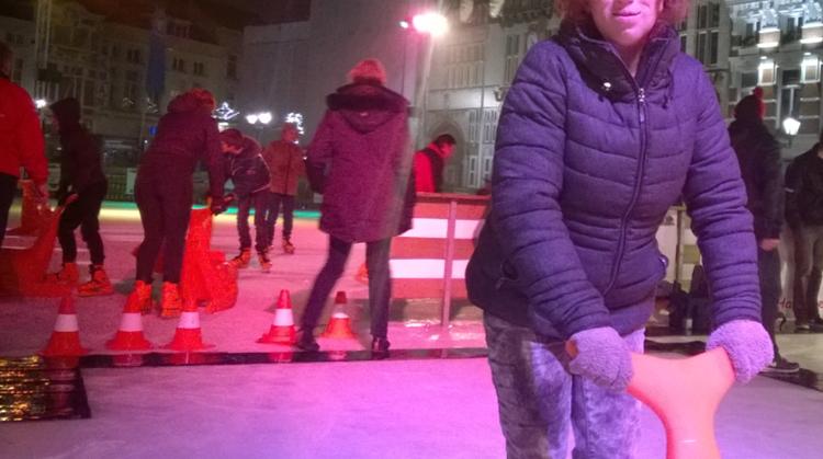 Schaatsen en curlen op de Grote Markt afbeelding nieuwsbericht