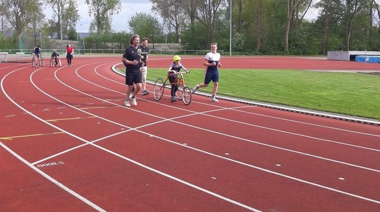 RaceRunning in Groningen afbeelding nieuwsbericht