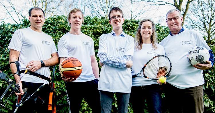 Ambassadeurs Gelderland sport onbeperkt vragen aandacht voor aangepast sporten afbeelding nieuwsbericht