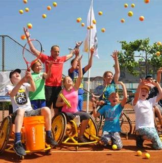 Opendag rolstoeltennis bij TV Beekhuizen afbeelding nieuwsbericht