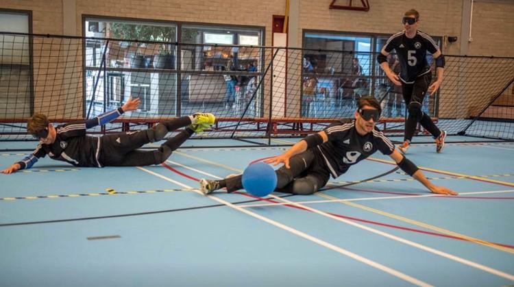 Goalballen in Eindhoven afbeelding nieuwsbericht