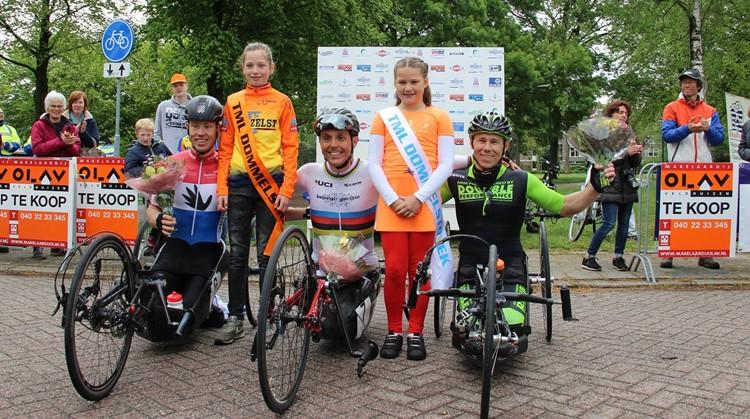 Handbike succes krijgt vervolg tijdens editie 2020 van de Ronde van Geldrop! afbeelding nieuwsbericht
