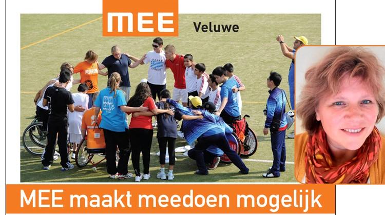Gretha Visserman van MEE Veluwe: Iedereen moet kunnen sporten! afbeelding nieuwsbericht