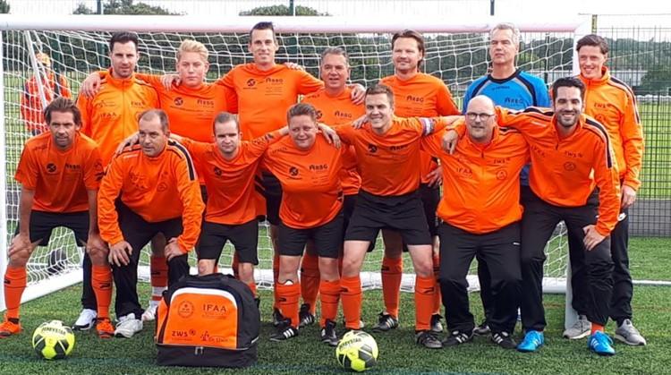 Het Nederlands Transplantatie voetbalteam heeft zilver gewonnen op de World Transplant Games in Newcastle afbeelding nieuwsbericht
