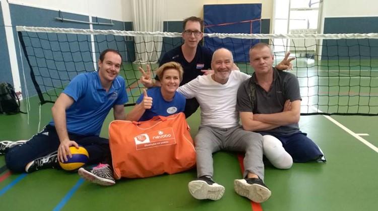 Start zitvolleybal in Amsterdam afbeelding nieuwsbericht