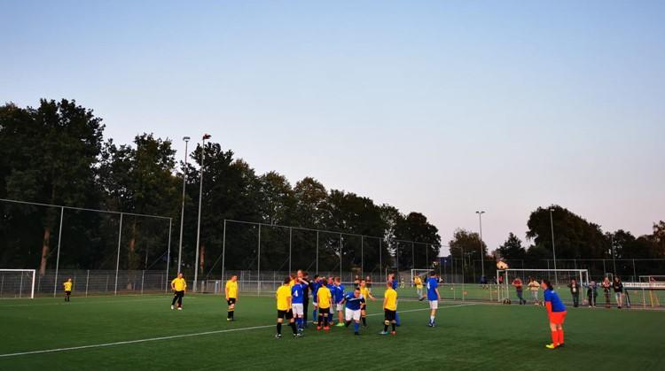 Geslaagde G-voetbalwedstrijd tijdens de Nationale Sportweek 2020 afbeelding nieuwsbericht