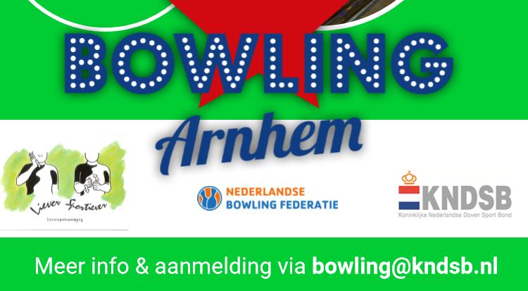 Bowling: open toernooi en clinic voor doven en slechthorenden afbeelding nieuwsbericht