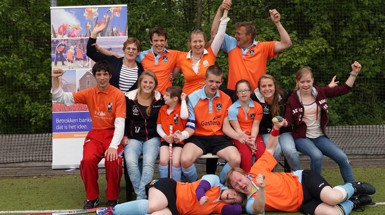 """Never a dull moment"" bij het G-hockey binnen hockeyclub GHHC Groningen afbeelding nieuwsbericht"
