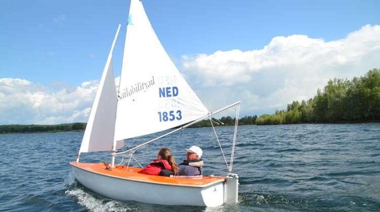 Open dag aangepast zeilen Watersportvereniging Giesbeek afbeelding nieuwsbericht