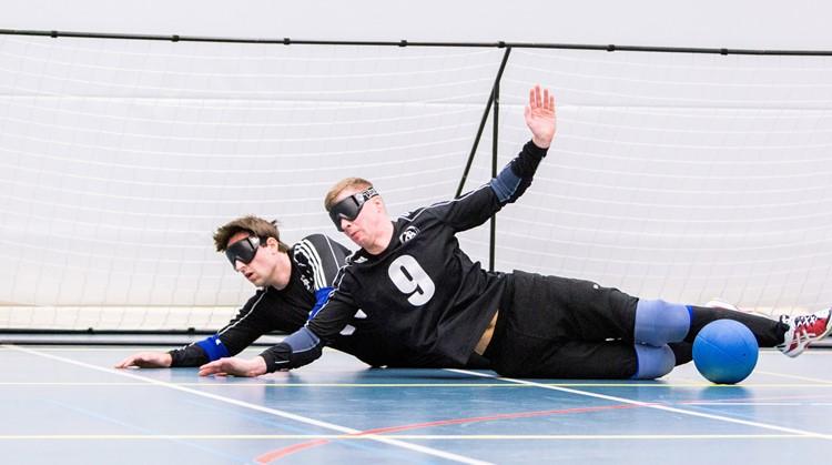 Inlooptraining Goalball Eindhoven afbeelding nieuwsbericht