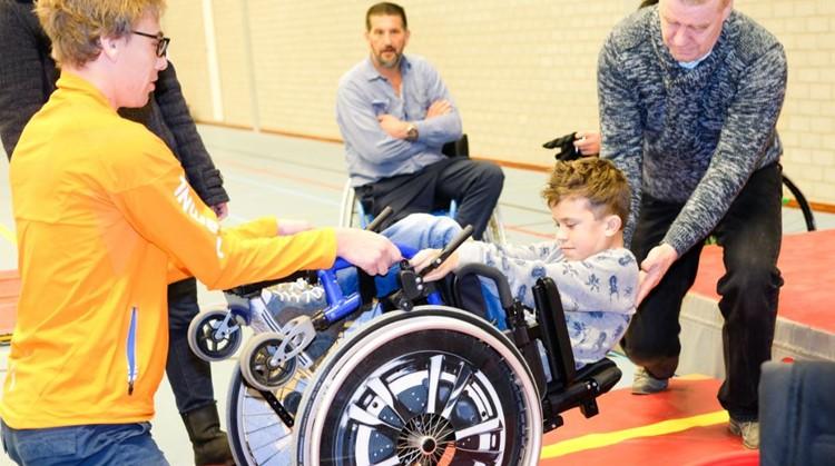Inschrijven voor rolstoeltraining najaar 2017 afbeelding nieuwsbericht