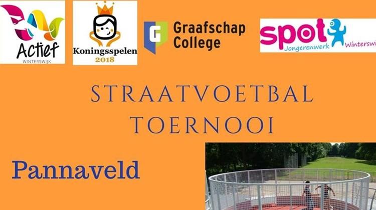 Straatvoetbal toernooi afbeelding nieuwsbericht