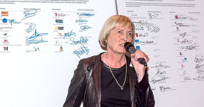 Ambassadeur Joke van Rijswijk afbeelding nieuwsbericht