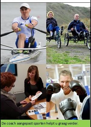 Sportloket aangepast sporten Beverwijk en Heemskerk afbeelding nieuwsbericht