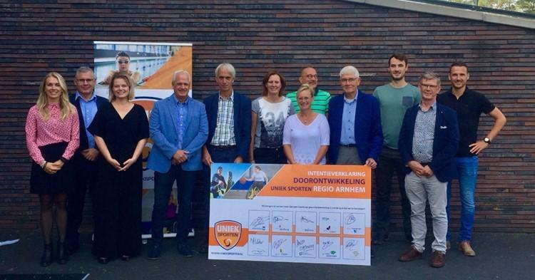 Geslaagde bijeenkomst doorontwikkeling aangepast sporten Uniek Sporten Arnhem! afbeelding nieuwsbericht