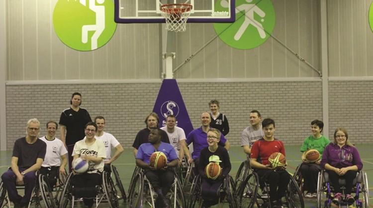 Kennismaken met jeugd rolstoelbasketbal afbeelding nieuwsbericht