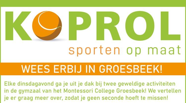 Nieuw sportaanbod in Groesbeek afbeelding nieuwsbericht