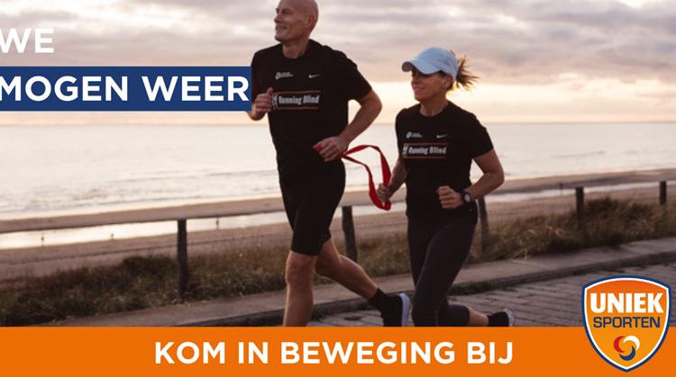 We mogen weer! Kom in beweging bij Running Blind Tempo Bussum afbeelding nieuwsbericht
