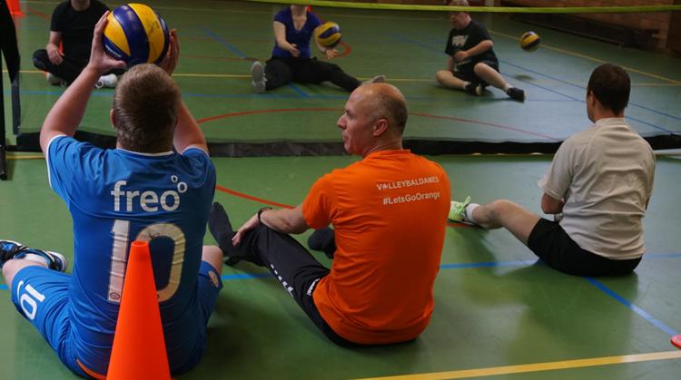 Zitvolleybal clinic bij sport & spelgroep de Bengels afbeelding nieuwsbericht