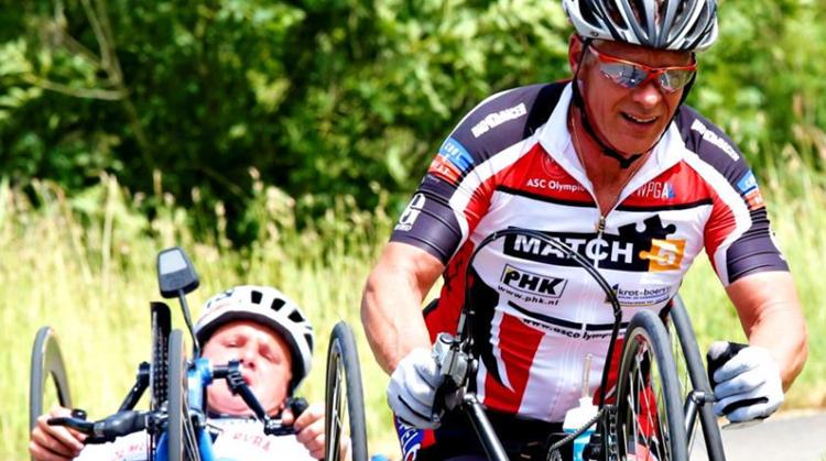 Toertocht handbikes ronde van Drenthe nu ook geschikt voor aangepast fietsen afbeelding nieuwsbericht