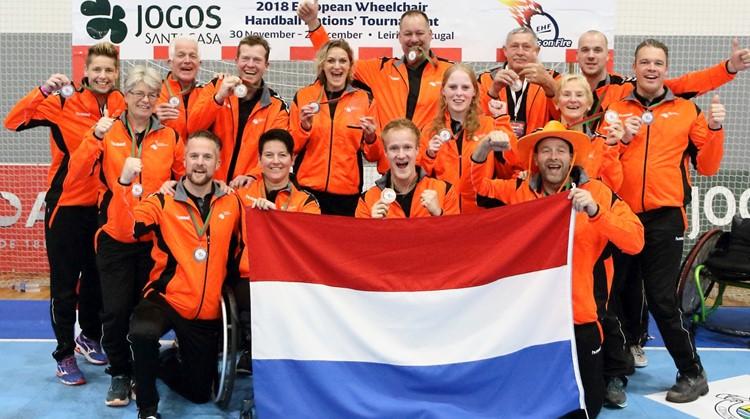 Rolstoelhandballers winnen bronzen medaille op EK afbeelding nieuwsbericht