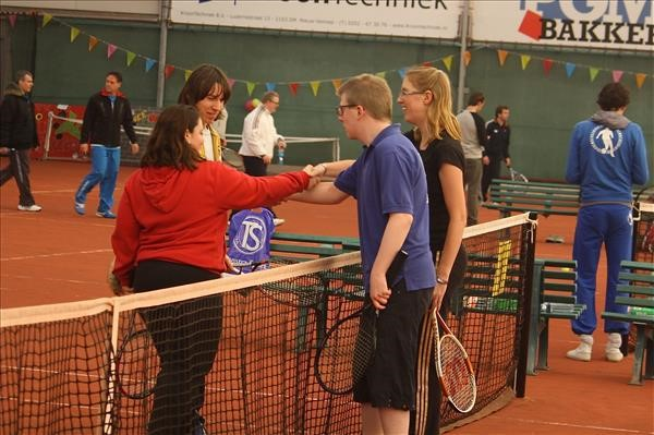 Start sportseizoen: g-tennis in Nieuw-Vennep afbeelding nieuwsbericht