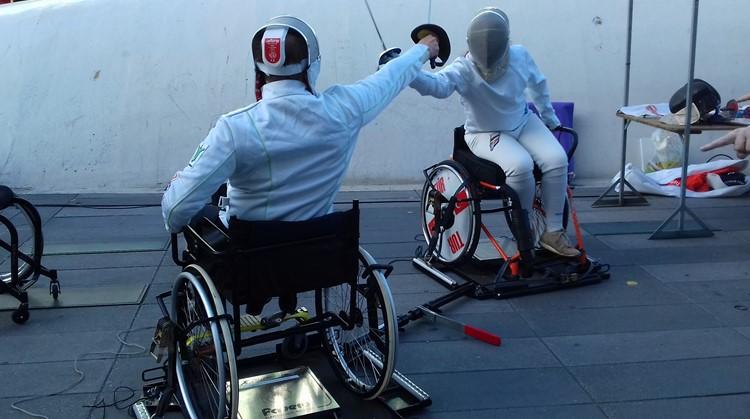 PSV Schermen is gestart met rolstoelschermen afbeelding nieuwsbericht