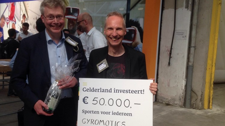 Drie projecten voor aangepast sporten in de prijzen tijdens Startup Delta afbeelding nieuwsbericht