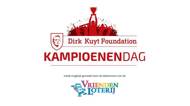 Dirk Kuyt Foundation Kampioenendag 30 mei afbeelding nieuwsbericht