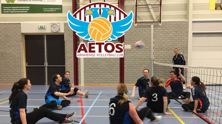 Aetos organiseert toernooidag zitvolleybal in Arnhem afbeelding nieuwsbericht