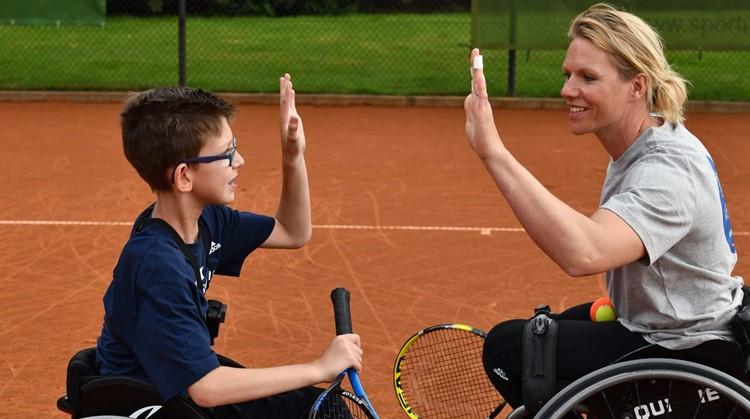 Kennismaking rolstoeltennis afbeelding nieuwsbericht