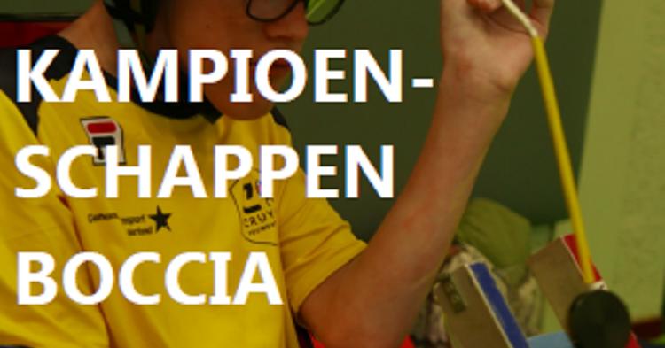 De 8e editie van de Nederlandse Jeugdkampioenschappen boccia! afbeelding nieuwsbericht