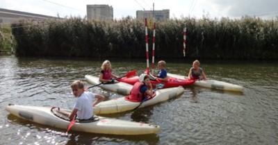 Proefles kanovaren voor jongeren met autisme/ADHD. afbeelding nieuwsbericht