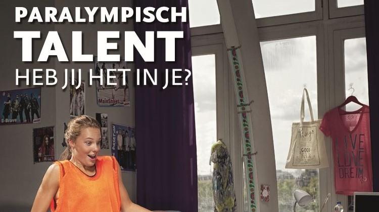 Ben jij of ken jij Paralympisch talent? afbeelding nieuwsbericht