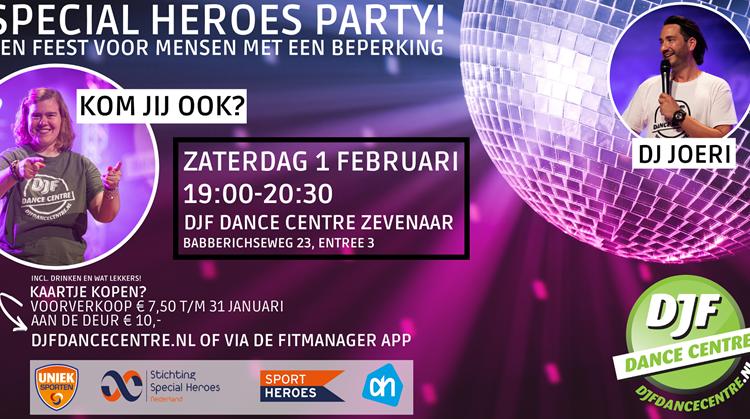 Special Heroes Party DJF afbeelding nieuwsbericht