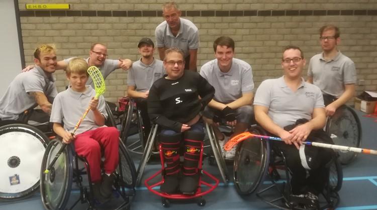 Uniek jeugdtoernooi rolstoelhockey in Woerden afbeelding nieuwsbericht