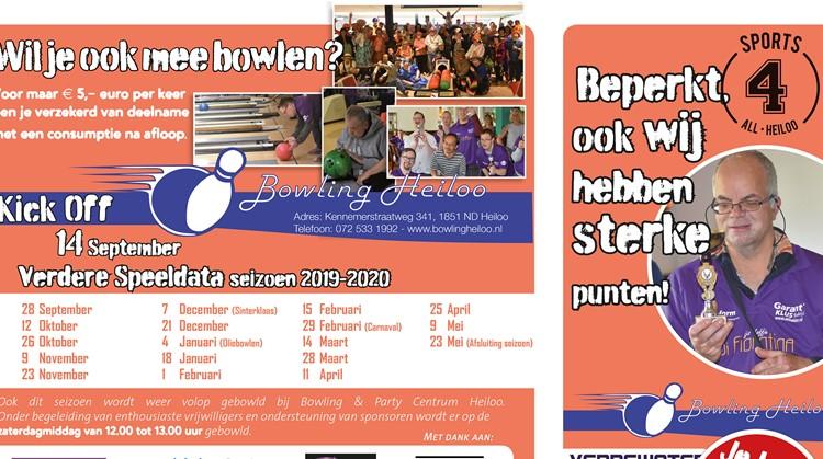 In Heiloo kan íedereen mee bowlen! afbeelding nieuwsbericht