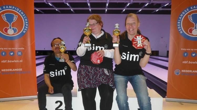 Finalisten Sports4all Bowling Heiloo behalen goede resultaten bij Nederlands kampioenschappen afbeelding nieuwsbericht