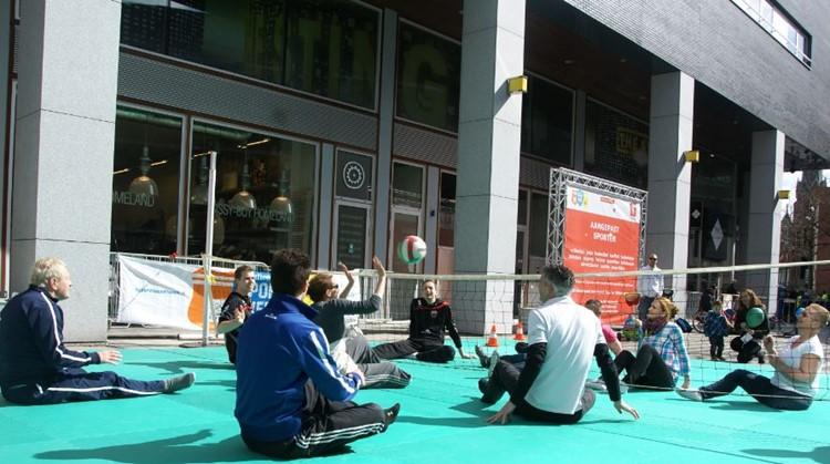 Decathlon - Aangepast Sporten Plein in centrum Tilburg op zaterdag 22 september afbeelding nieuwsbericht