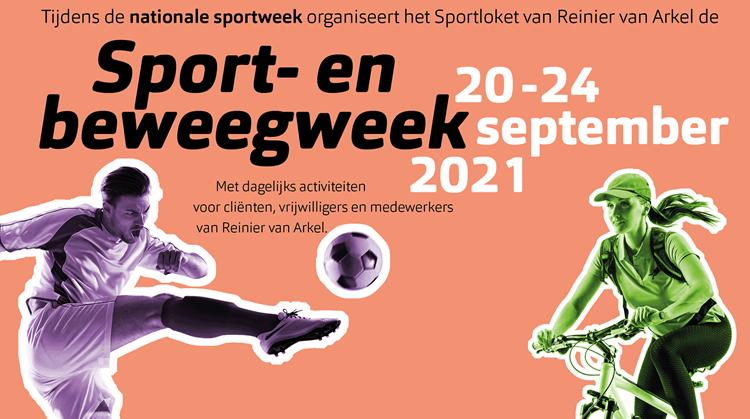Sport- en beweegweek Reinier van Arkel afbeelding nieuwsbericht