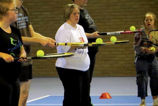 Seizoenstart G-tennis bij Sportclub Waag afbeelding nieuwsbericht